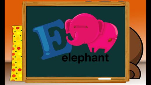 ABC儿童学习英语动物词酷游戏