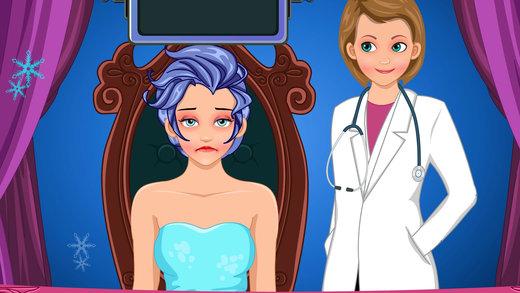 艾莎鼻子手术 - 模拟器医生游戏