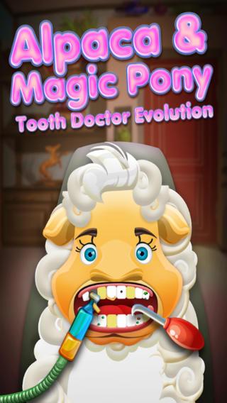 一个羊驼魔小马牙医生的演变 A Alpaca  Magic Pony Tooth Doctor Evolution