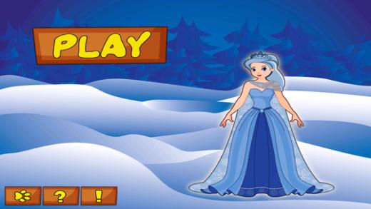 冰公主的故事 - 斯诺球下落战略游戏 支付