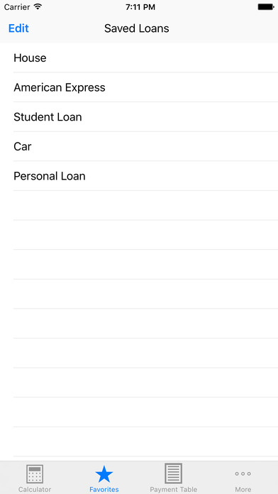 贷款计算器 +