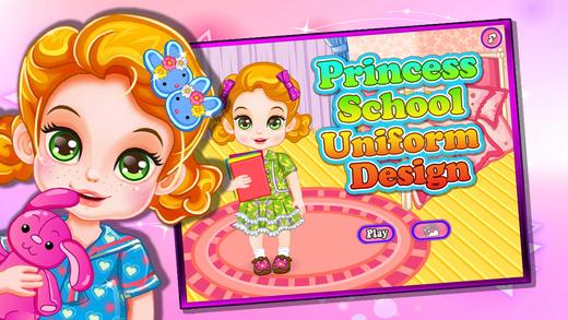 可爱小公主-设计漂亮的校服
