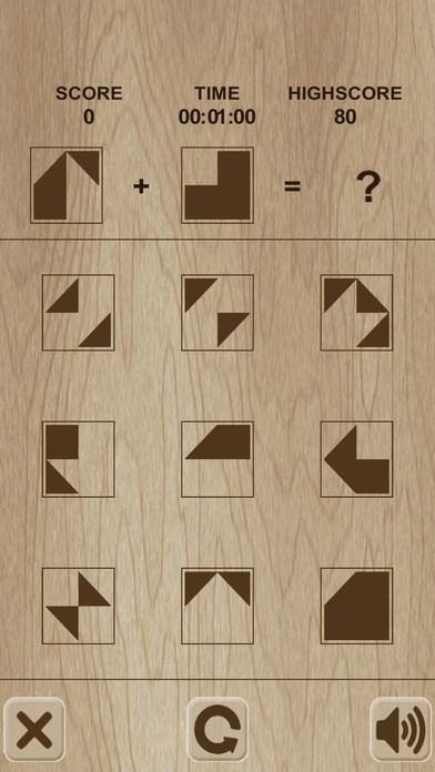 Simple shape's puzzle / 形状简单的谜题