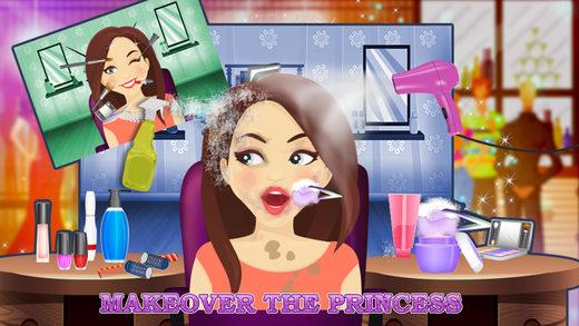雪公主化妆灾难 - 女孩化妆与沙龙温泉游戏