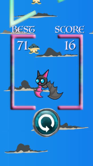 超級蝙蝠飛無限免費遊戲