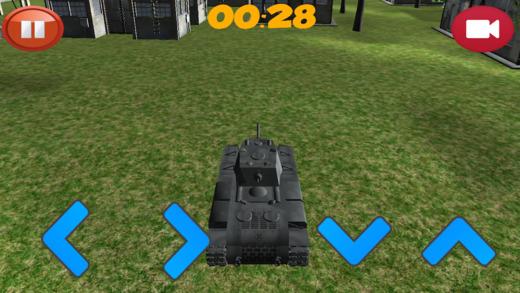 顶部坦克模拟器