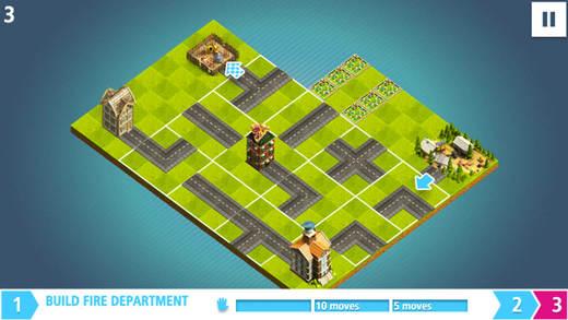益智拼图游戏 - 解密扭曲城市拼图