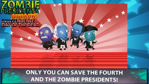 - 僵尸总统攻击死者的独立日