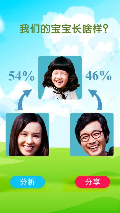预测宝宝未来长相 - 像妈妈还是像爸爸,父母照片合成颜值比较