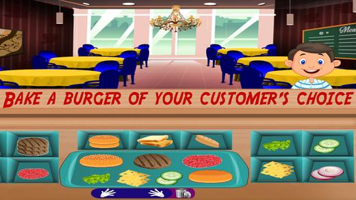 咖啡馆食物厨师疯狂 - 餐厅游戏