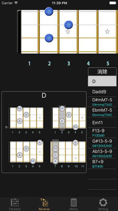 BU-Chord(Baritone 四弦琴)