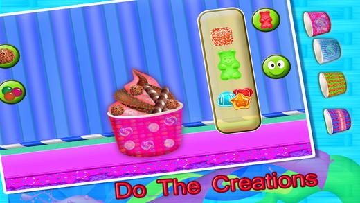 冰激淋机店 — — 食物制造商游戏