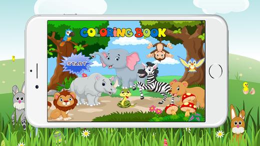 图画书动物网页游戏为幼儿园
