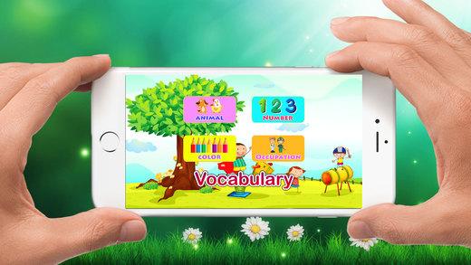 词汇 英语 孩子们 - 学习 话 语言