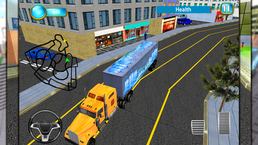 矿泉水运输车 - 卡车驾驶模拟器