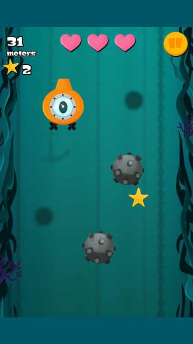 潜水艇与深海宝藏