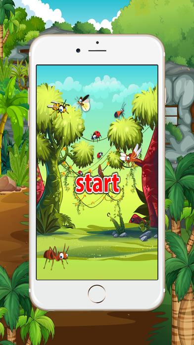 学习英语初学者:昆虫:为孩子们学习游戏 - 免费的!