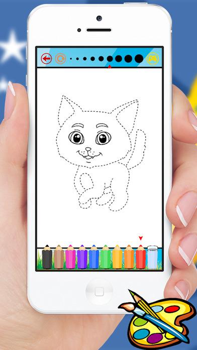 动物图画书 - 可爱绘图绘画儿童游戏