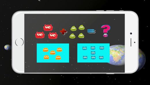 怪物空间数学:加法和减法对于儿童