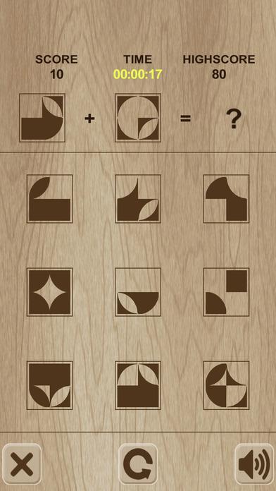 Simple shape's puzzle / 形状简单的谜题