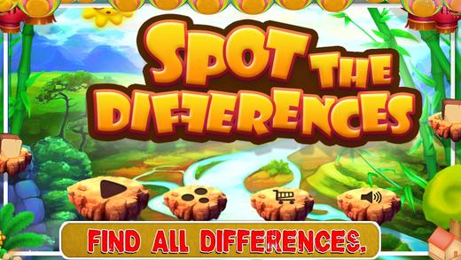 现货的差异 - 益智游戏