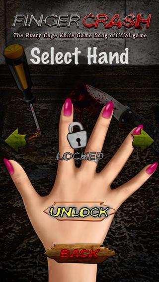 """手指崩溃 - 生锈的笼子'刀赛歌""""官方免费游戏!"""