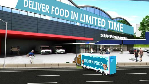 冷冻食品卡车模拟器&交付模拟器