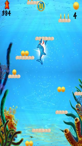 跳跃海豚世界 - 平台合收集游戏 支付