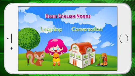基本的英語學習名詞幼兒園和學齡前兒童