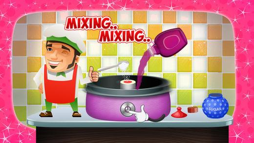 棉花糖制造商 - 让甜品在这个疯狂的烹饪比赛为孩子们