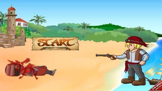 海盗对忍者攻击 - 加勒比海国防