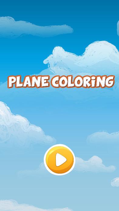 天空飞机图画书为孩子们的游戏