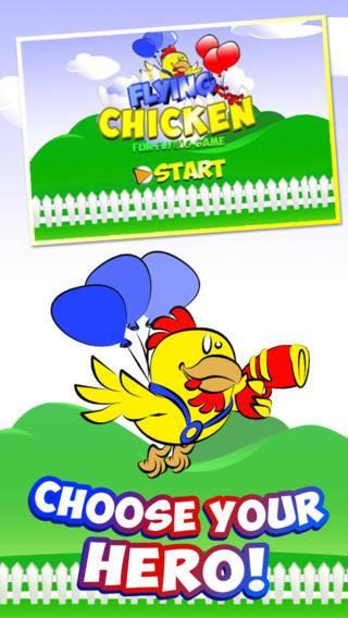 飞鸡逃生 - 疯狂的英雄母鸡