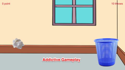 扔纸团游戏-室内休闲