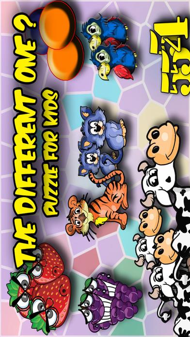 不同的 - 儿童拼图 Different - Kids Puzzle