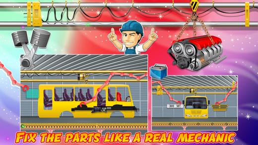 汽车工厂 - 疯狂力学的车辆制造商