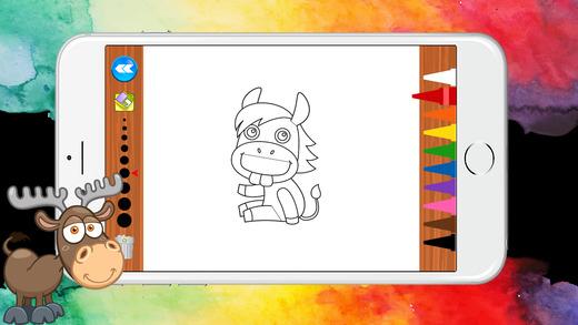 動物世界圖畫書為孩子們的遊戲