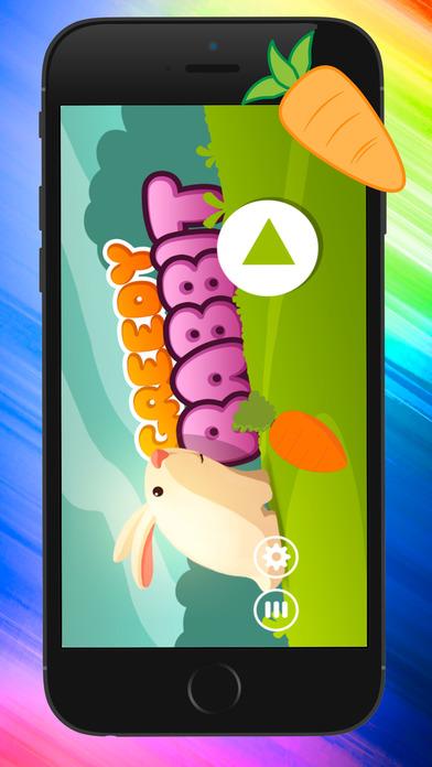 贪婪的兔子 - 跳跃和运行有趣的游戏免费