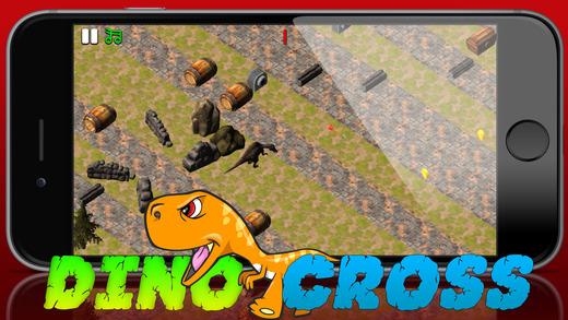 Crossy恐龙海岛土路破折号