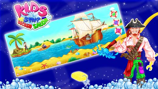 孩子们的船洗沙龙 - 清理和修复海盗船在这个疯狂的机械师游戏