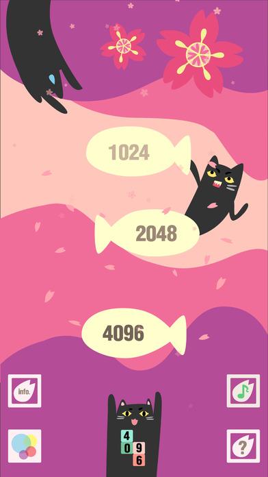 猫星人2048-kitty猫的俄罗斯方块为少女设计的小游戏