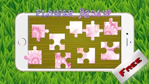 花拼图 - 游戏魔幻神奇的天然高清拼图为成人和儿童免费