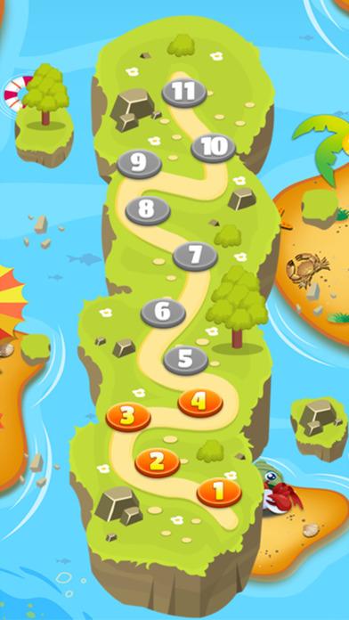 饥饿的鲨鱼 vs 深渊 快乐的鱼 连线消除 謎 配对游戏