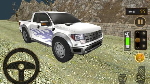 实际速度汽车特技车手模拟器