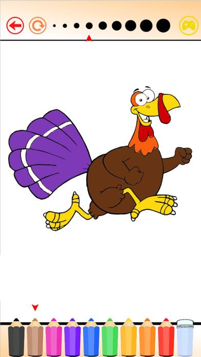土耳其&鸡进化 - 为我着色的书