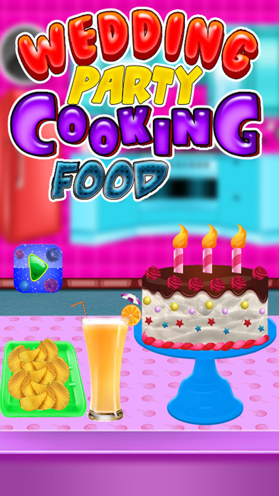 婚礼派对烹饪食品和甜品制造商