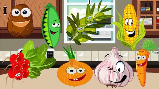 蔬菜的益智游戏为孩子们