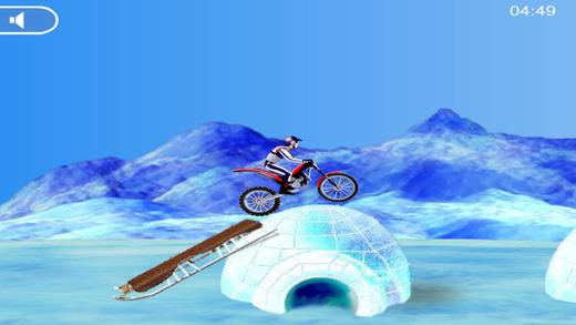 冰上自行车赛