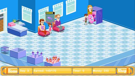 小孩雨伞店模拟经营单机游戏