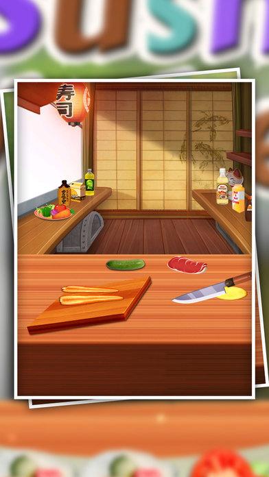 如何寿司制造商 - 寿司制作游戏 - 游戏cookings